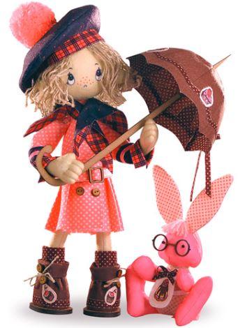 Какие бывают игрушки для девочек: набор для шитья