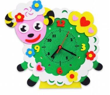 овечка часы из фоамирана: игрушки своими руками