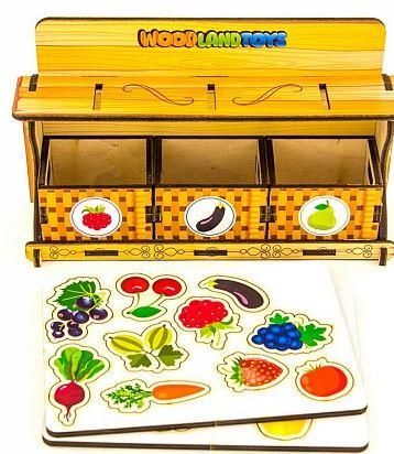 Игрушки для изучения английского: карточки-фрукты