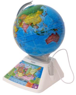 Игрушки для изучения английского: интерактивный глобус
