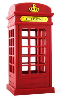сувенирный светильник: лондонская телефонная будка