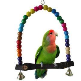 Качели для попугая, игрушки для птицы: качели