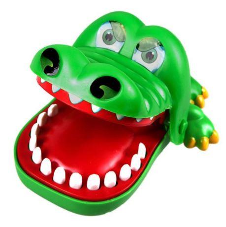 прикольная игрушка крокодил дантист
