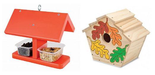 наборы для творчества: домики для птиц
