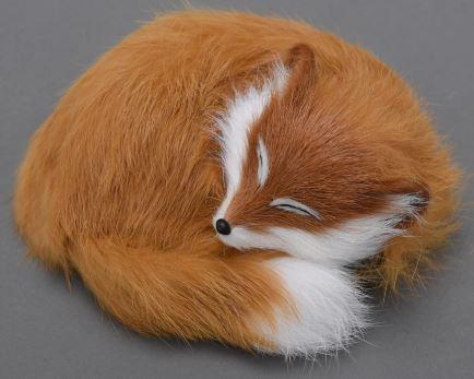 маленькая спящая лиса фокси