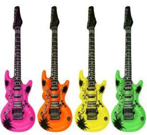 надувные гитары воздушные шары