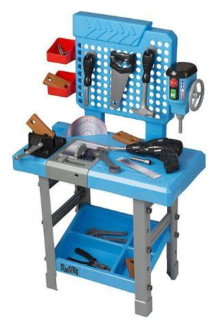 Игровой набор инструментов поможет приучить ребенка к труду