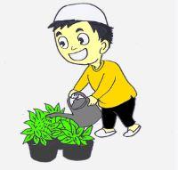 приучить детей к труду: садоводство