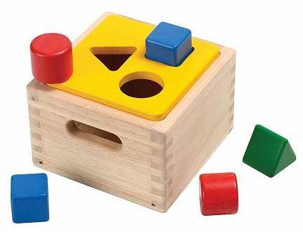 Игрушки после инсульта: куб-сортер