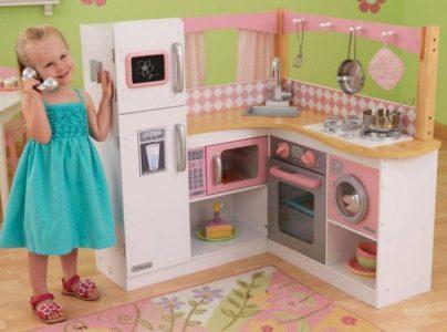игровая детская кухня с набором инструментов