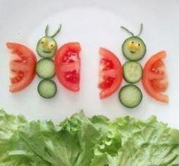 игрушки из фруктов и овощей