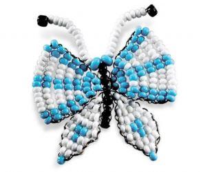 игрушки из бисера бабочка