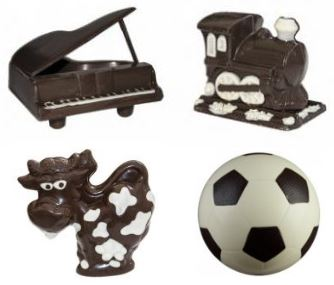Съедобные игрушки из шоколада