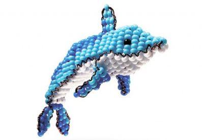 набор для бисероплетения: дельфин