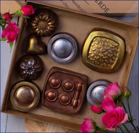Крафтовый шоколад: шоколадные игрушки