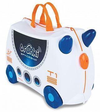 детский чемодан на колесиках в виде зверушки