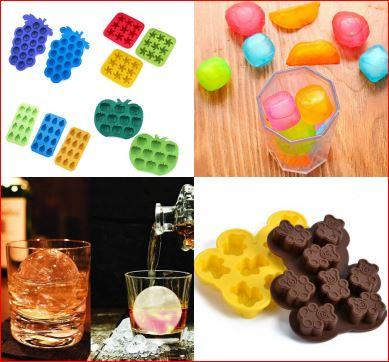 вкусные поделки: формочки для льда и выпечки