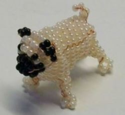 игрушки из бисера своими руками: собака