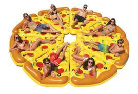 Надувной матрас пицца для моря и бассейна
