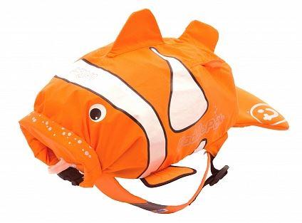 детский рюкзак в виде зверушки рыбки