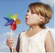 Игрушки для лета ветрячок вертушка
