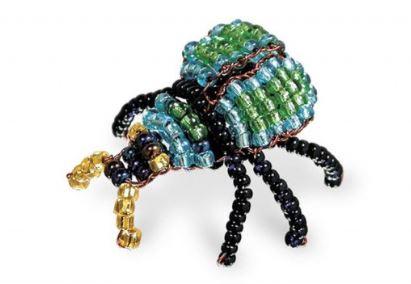 игрушки из бисера жук