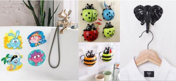 интерьерные игрушки для ванной