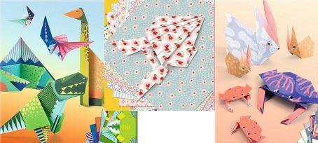 оригами: наборы для творчества подходят девочками и мальчикам