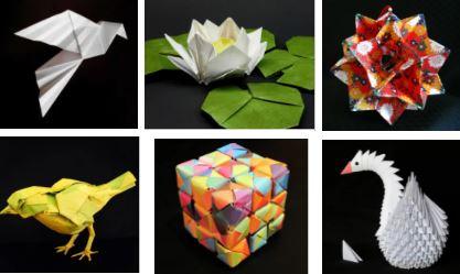 разновидности оригами