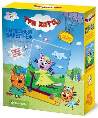 поделки из гипса для детей: Три кота