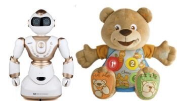 Интерактивная игрушка учит английскому