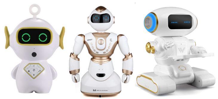 роботы помогают учить английский
