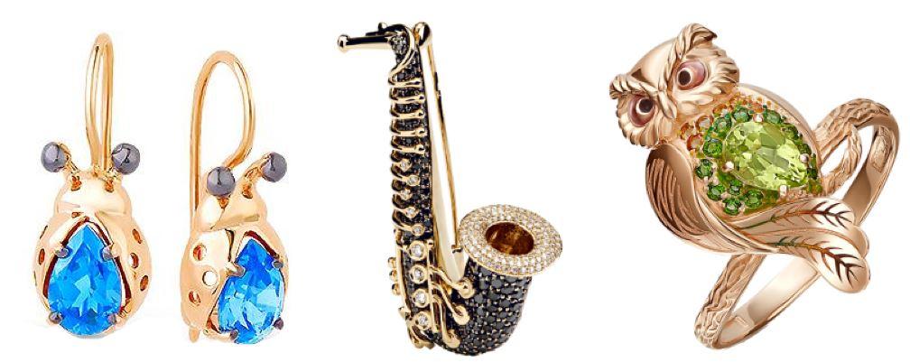игрушки из золота: ювелирные изделия