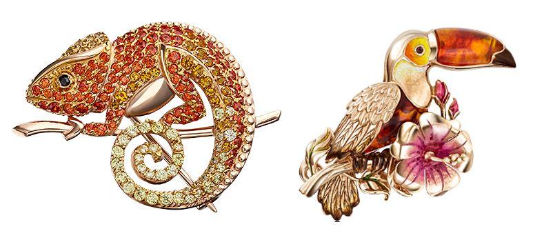 ювелирка: зверушки из золота