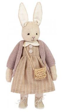 зайка Шарлотта из набора для шитья игрушки