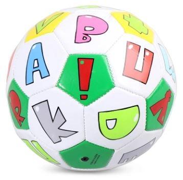 Мяч с латинскими буквами