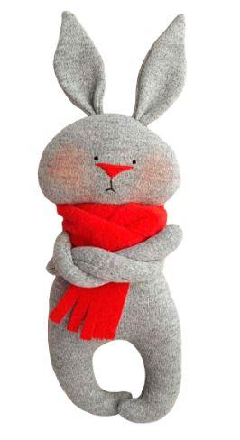 Набор для шитья зайца - текстильной игрушки